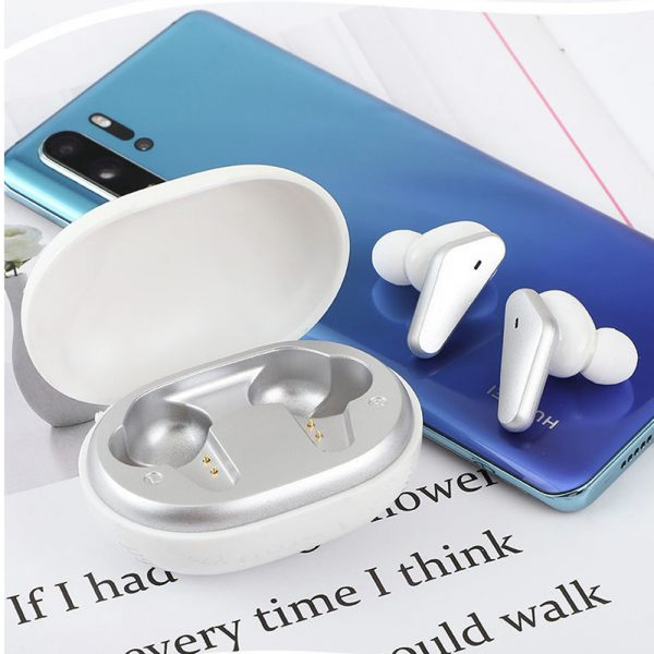 TWS Bluetooth 5.0 Binaural Wireless Noise Cancelling Sports Earbud with Mic and Charging Case_3