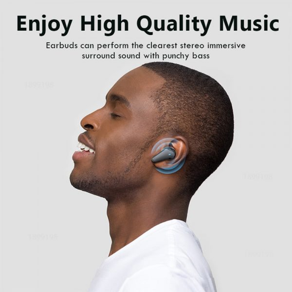 TWS Bluetooth 5.0 Binaural Wireless Noise Cancelling Sports Earbud with Mic and Charging Case_9