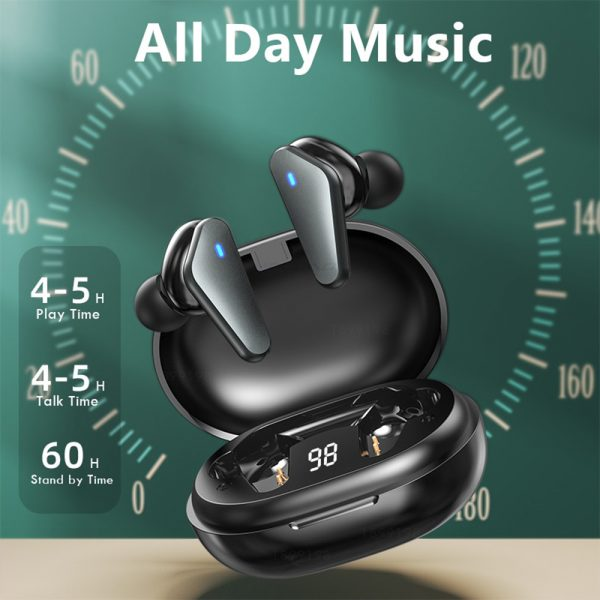 TWS Bluetooth 5.0 Binaural Wireless Noise Cancelling Sports Earbud with Mic and Charging Case_16