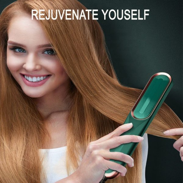 2-in-1 Dual Use Hot Hair Comb Negative Ion Hair Straightener and Curling Iron Hair Brush_3