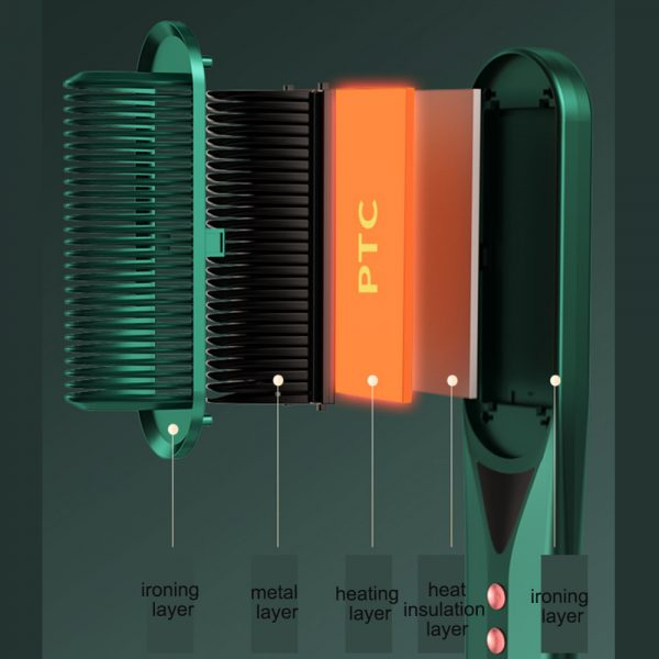 2-in-1 Dual Use Hot Hair Comb Negative Ion Hair Straightener and Curling Iron Hair Brush_7
