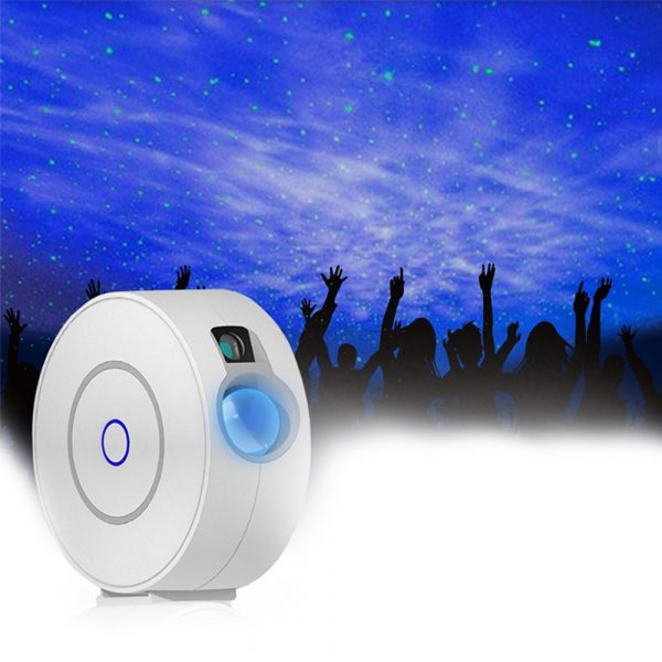 LED Night Light Star Projector with Nebula Cloud, Smart WIFI Bluetooth Projector for App Control_2
