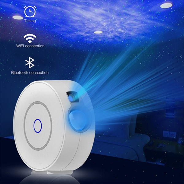 LED Night Light Star Projector with Nebula Cloud, Smart WIFI Bluetooth Projector for App Control_0