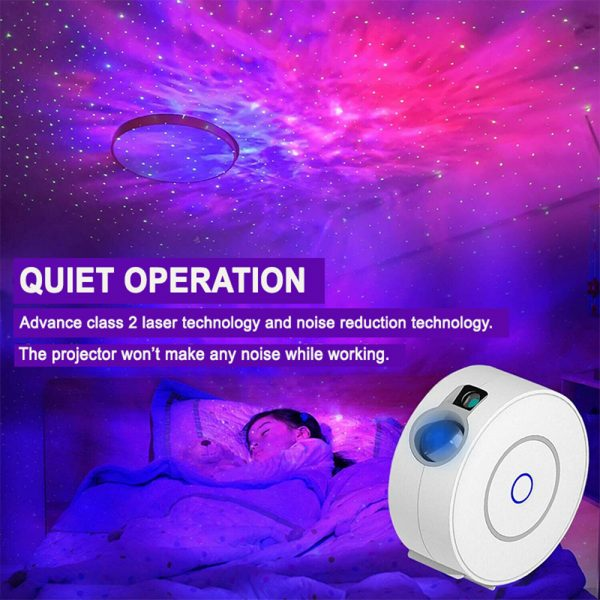 LED Night Light Star Projector with Nebula Cloud, Smart WIFI Bluetooth Projector for App Control_6