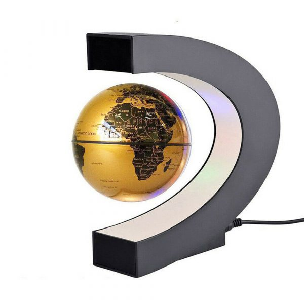 C- Shaped Magnetic Levitation Globe for Desk Table and Home Decoration_4