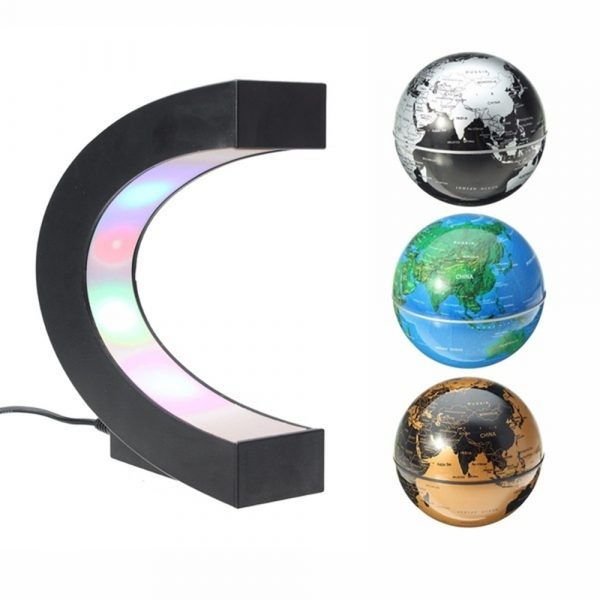 C- Shaped Magnetic Levitation Globe for Desk Table and Home Decoration_1