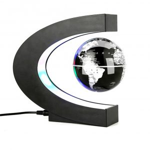 C- Shaped Magnetic Levitation Globe for Desk Table and Home Decoration