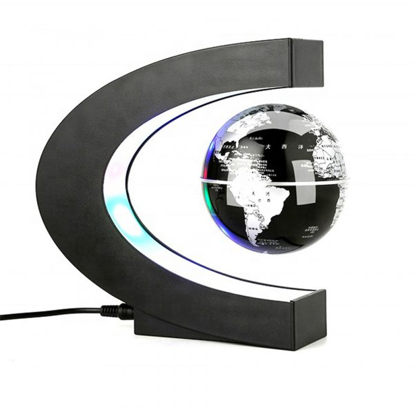 C- Shaped Magnetic Levitation Globe for Desk Table and Home Decoration_0