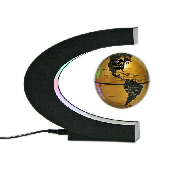 C- Shaped Magnetic Levitation Globe for Desk Table and Home Decoration_6