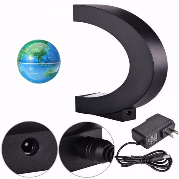 C- Shaped Magnetic Levitation Globe for Desk Table and Home Decoration_10