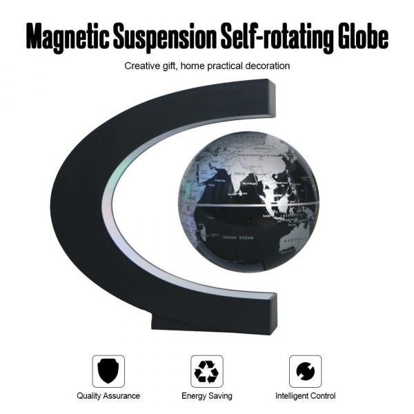 C- Shaped Magnetic Levitation Globe for Desk Table and Home Decoration_12