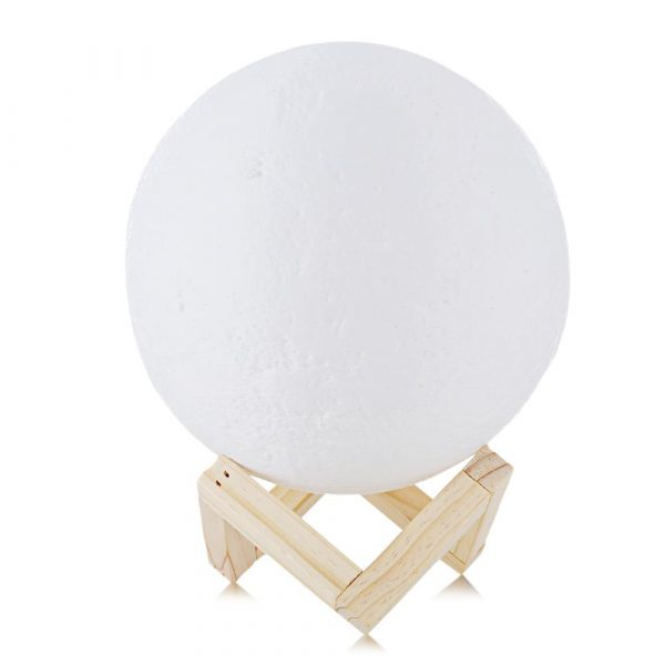 3D Printed Moonlight Lamp in 16 Colors with Remote Control for Bedroom and Home Decoration_2
