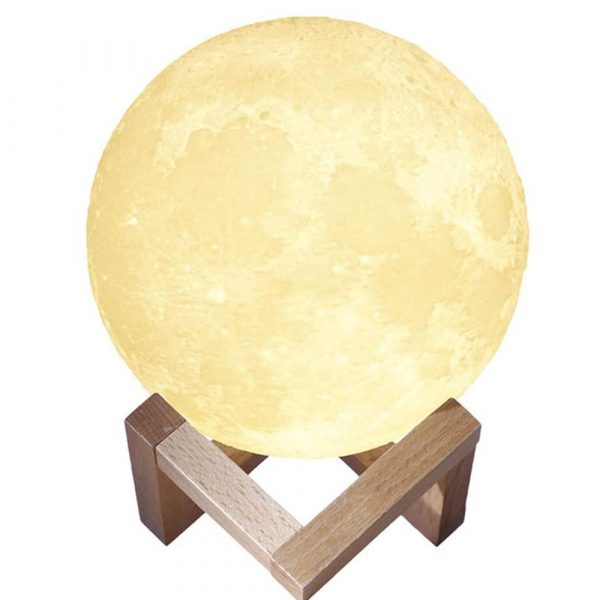 3D Printed Moonlight Lamp in 16 Colors with Remote Control for Bedroom and Home Decoration_3