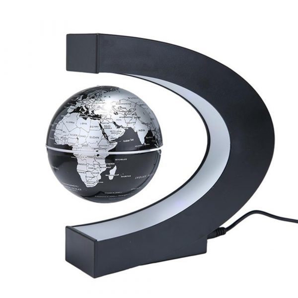 C- Shaped Magnetic Levitation Globe for Desk Table and Home Decoration_3