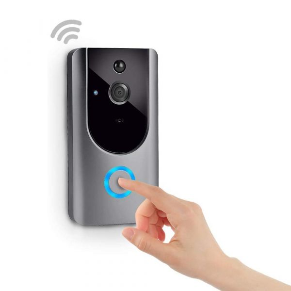 Smart Wireless Wi-Fi HD Video Doorbell for Home Protection and Home Security_3