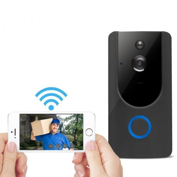Smart Wireless Wi-Fi HD Video Doorbell for Home Protection and Home Security_4