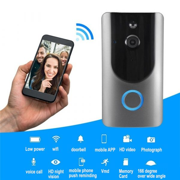 Smart Wireless Wi-Fi HD Video Doorbell for Home Protection and Home Security_6