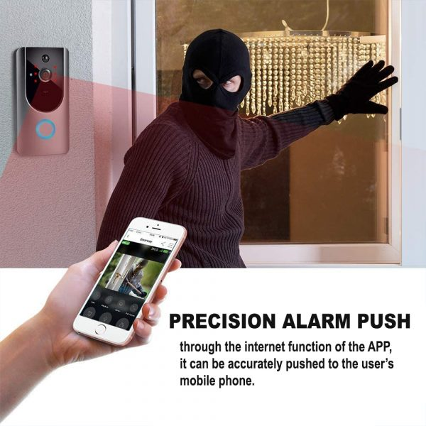 Smart Wireless Wi-Fi HD Video Doorbell for Home Protection and Home Security_7