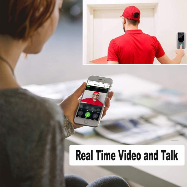 Smart Wireless Wi-Fi HD Video Doorbell for Home Protection and Home Security_9