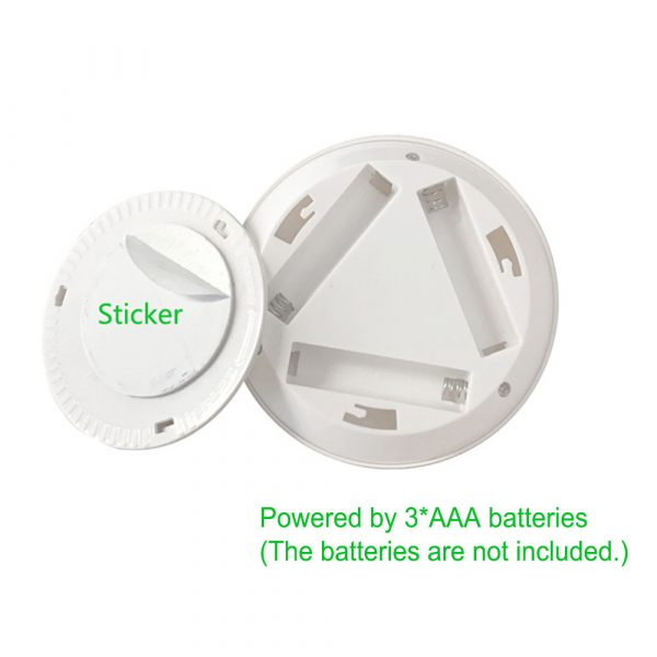 Touch and Remote-Controlled Wireless LED Dimmable Closet Kitchen Wardrobe Puck Lights_13