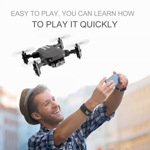 USB Rechargeable 4K Resolution Mini Folding Drone with Remote Control_19