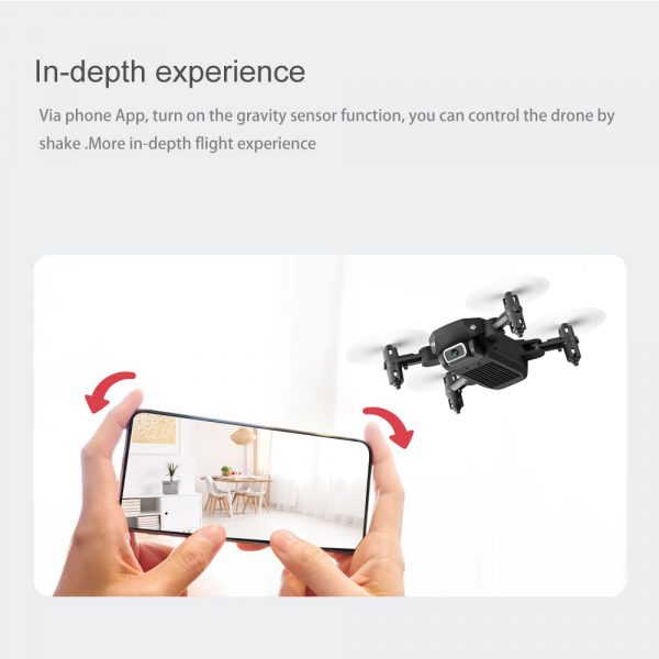 USB Rechargeable 4K Resolution Mini Folding Drone with Remote Control_20