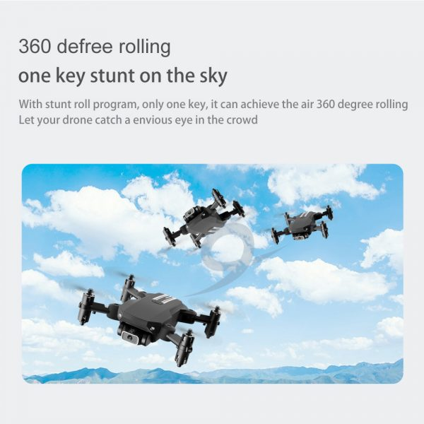 USB Rechargeable 4K Resolution Mini Folding Drone with Remote Control_22