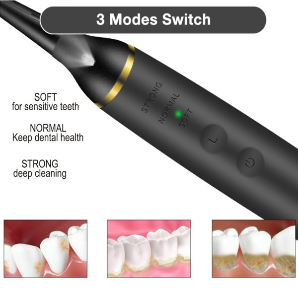 USB Rechargeable Electric Dental Calculus Tooth Cleaner with LED HD Screen_10