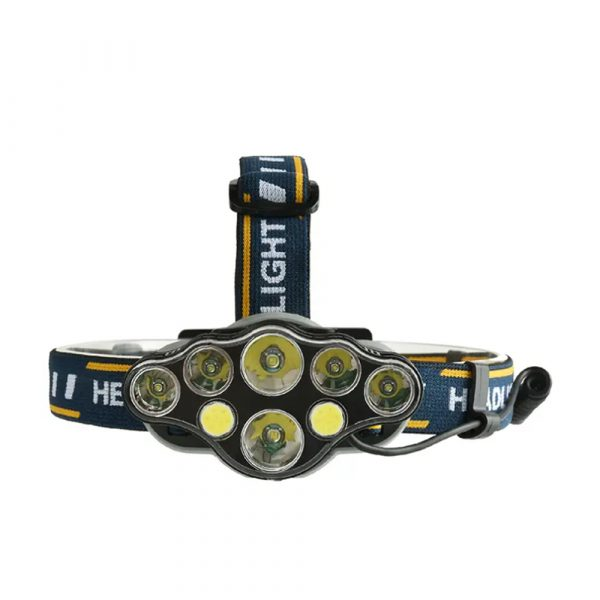 USB Rechargeable Outdoor Multi-Lights Strong Head Lamp for Extreme Outdoor Activities_0