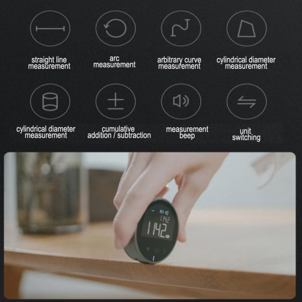 Multi-Surface Electronic Ruler Multi-Functional Measurement Tool with Digital Display_11