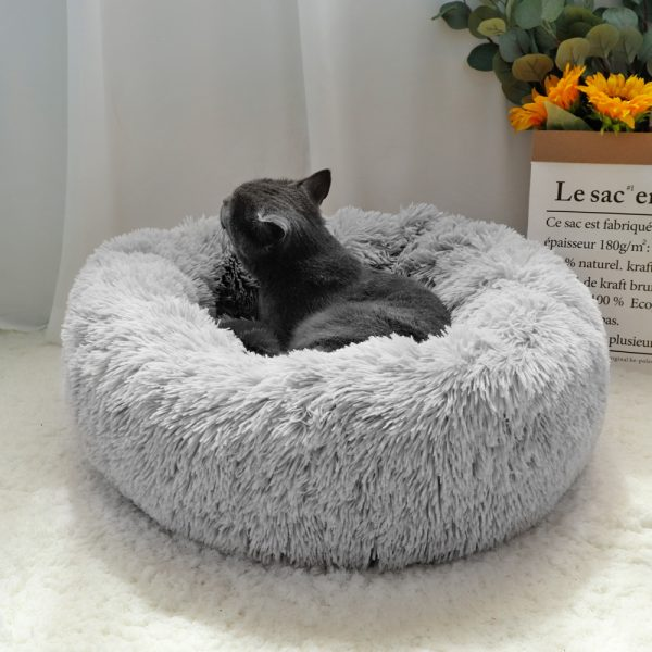EXTRA Larger Sized Long Plush Super Soft Pet Bed_2