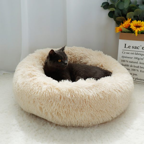 EXTRA Larger Sized Long Plush Super Soft Pet Bed_1