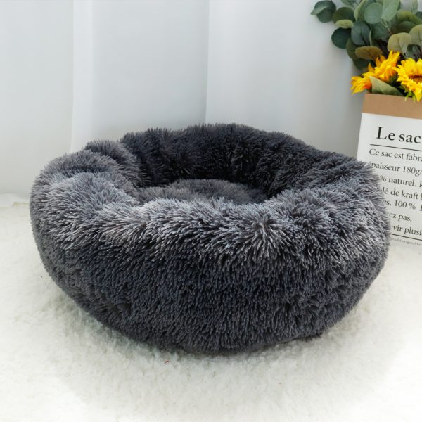 EXTRA Larger Sized Long Plush Super Soft Pet Bed_4