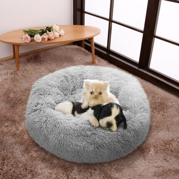 EXTRA Larger Sized Long Plush Super Soft Pet Bed_3