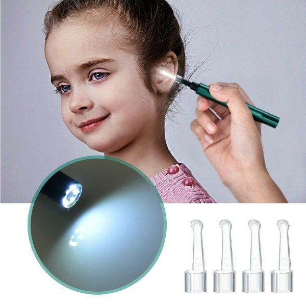 WI-FI Enabled HD Wireless Otoscope Earwax Remover Visual Ear Cleaner_6