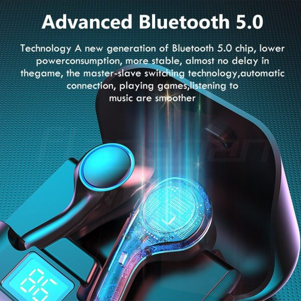 TWS Touch Control Wireless Headphones 9D Stereo Bluetooth with Mic_8