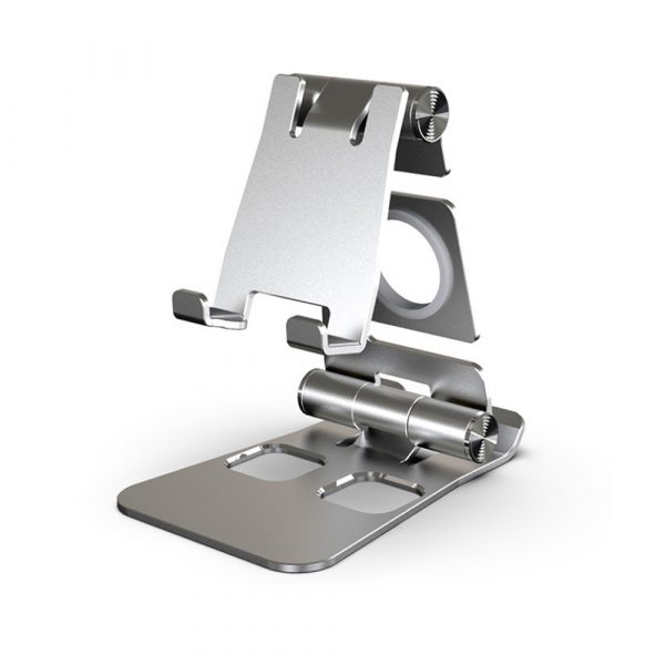 Foldable and Portable 3-in-1 Tablet and Phone Holder for Table and Desktop_0