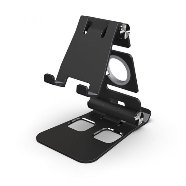 Foldable and Portable 3-in-1 Tablet and Phone Holder for Table and Desktop_1