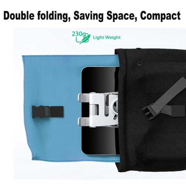 Foldable and Portable 3-in-1 Tablet and Phone Holder for Table and Desktop_9