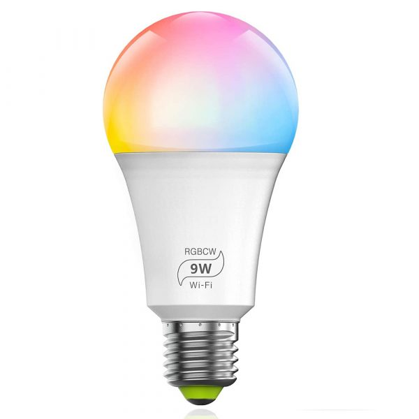 Wi-Fi Enabled 9W Color Changing Smart LED Light Bulb APP Ready_0