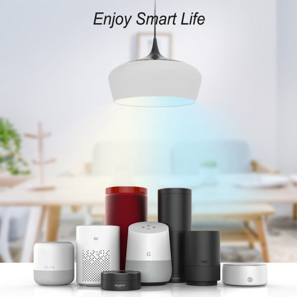 Wi-Fi Enabled 9W Color Changing Smart LED Light Bulb APP Ready_5