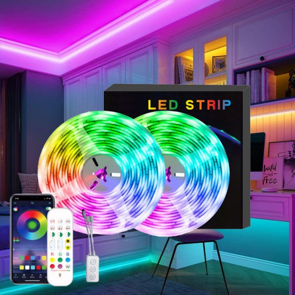 Remote Controlled Bluetooth Ready RGB LED Lights_1