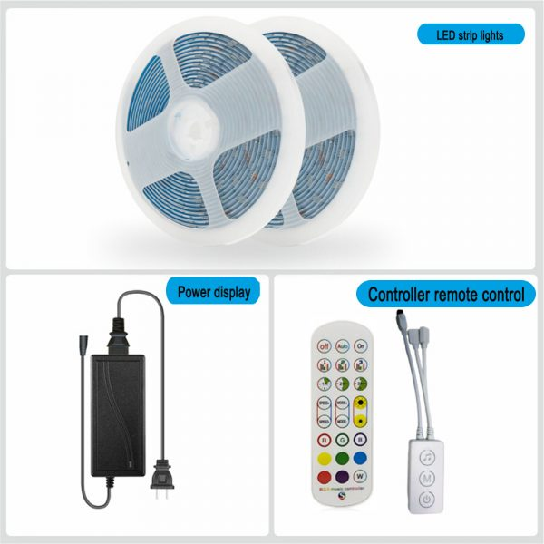 Remote Controlled Bluetooth Ready RGB LED Lights_3