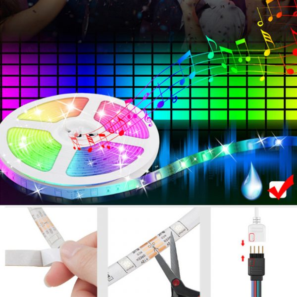 Remote Controlled Bluetooth Ready RGB LED Lights_4
