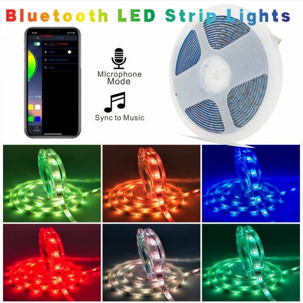 Remote Controlled Bluetooth Ready RGB LED Lights_5