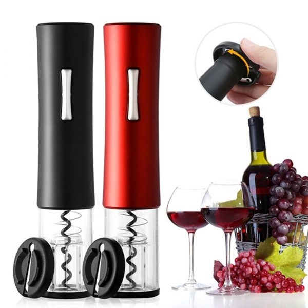 Battery Operated Electric Wine Bottle Opener_0