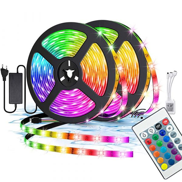 Remote Controlled Infrared Ready RGB LED Lights_8