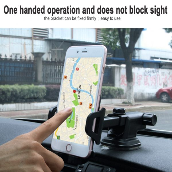 Suction Type Multi-Function Car Mobile Phone Holder_4