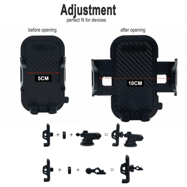 Suction Type Multi-Function Car Mobile Phone Holder_7