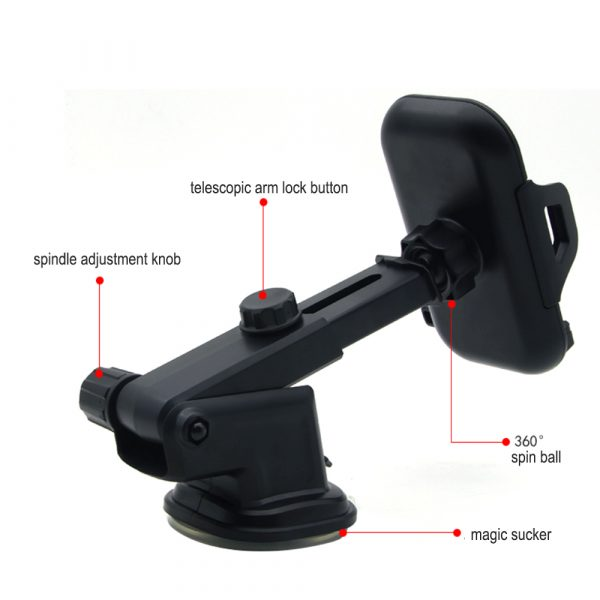 Suction Type Multi-Function Car Mobile Phone Holder_8